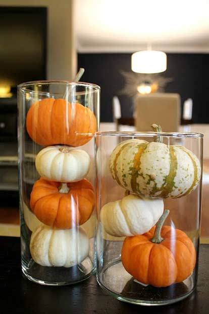 Uşor Thanksgiving Pumpkin Vase Decor