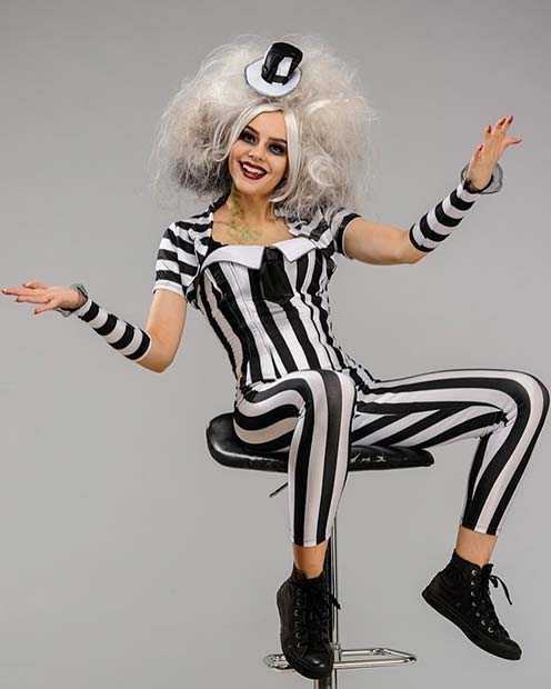 Beetlejuice Beetlejuice Beetlejuice for Halloween Costume Ideas for Teens