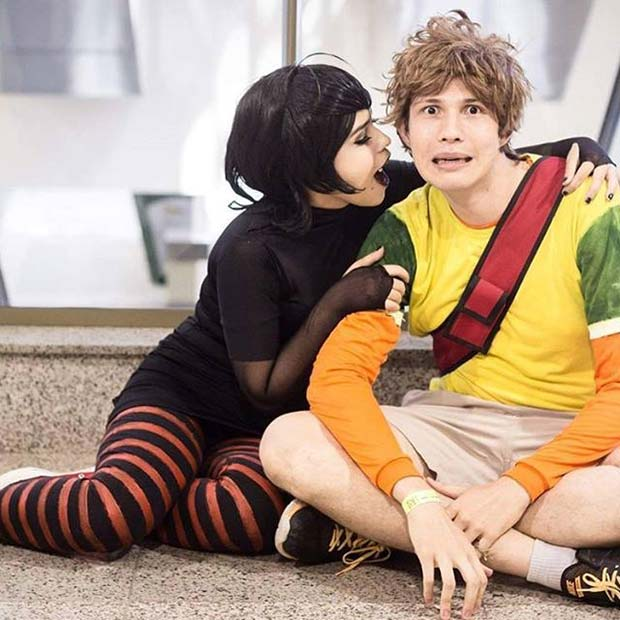 Hotel Transylvania Mavis and Johnny for Halloween Costume Ideas for Teens