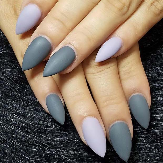 siva Matte Shades for Matte Nail Designs for Fall
