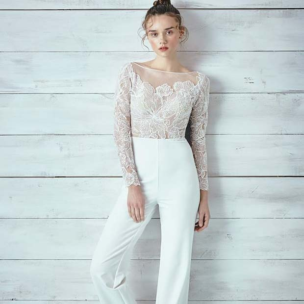 Finom White Lace Top and Pants
