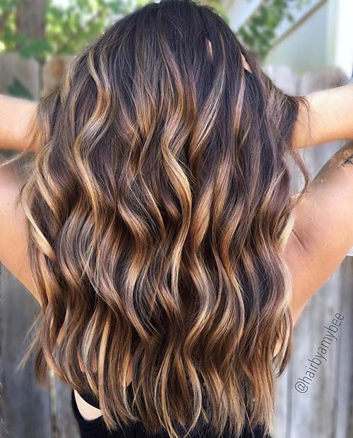 Карамел Balayage for Summer