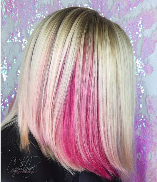 Одважан, Pink and Blonde Summer Hair