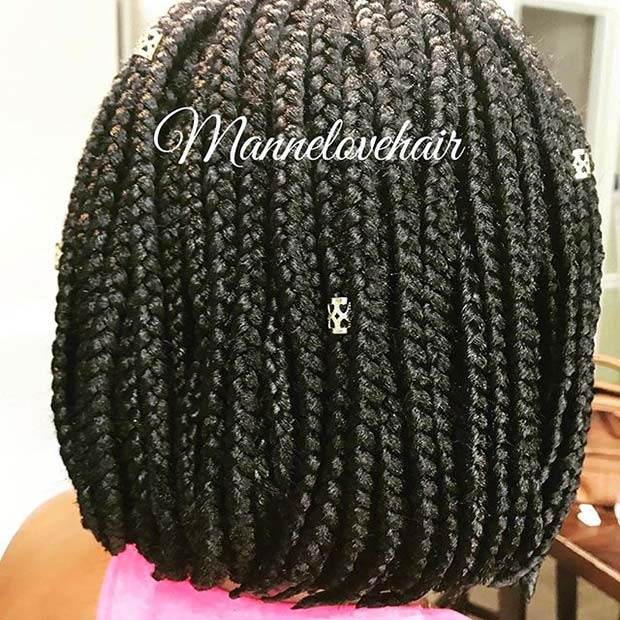 लट में Bob for Summer Protective Styles for Black Women