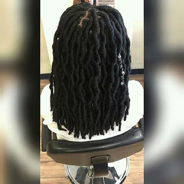 गर्मी Faux Locs for Summer Protective Styles for Black Women