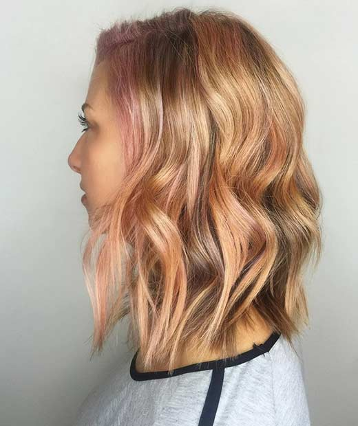 ce Rose Gold Highlights