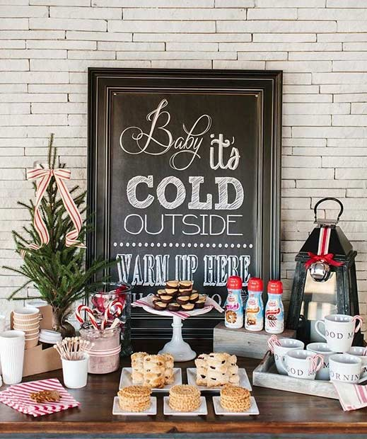 Зима Wedding Baby It's Cold Outside Sign