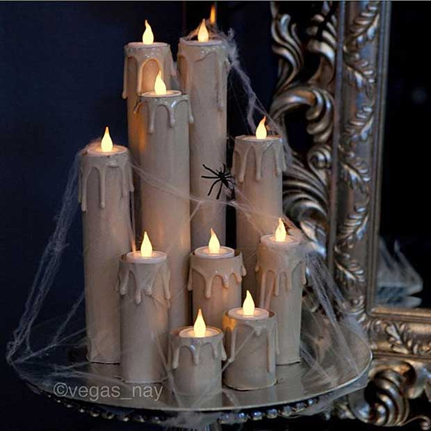 हैलोवीन Spooky Candles Decoration