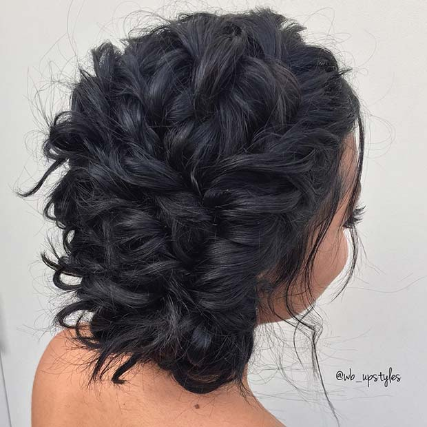 Murdar Braided Formal Updo