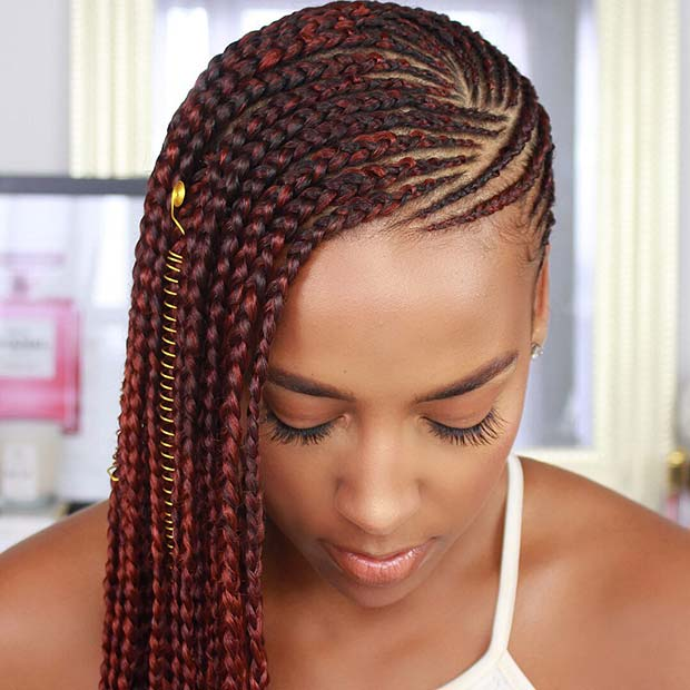 Skön Side Lemonade Braids