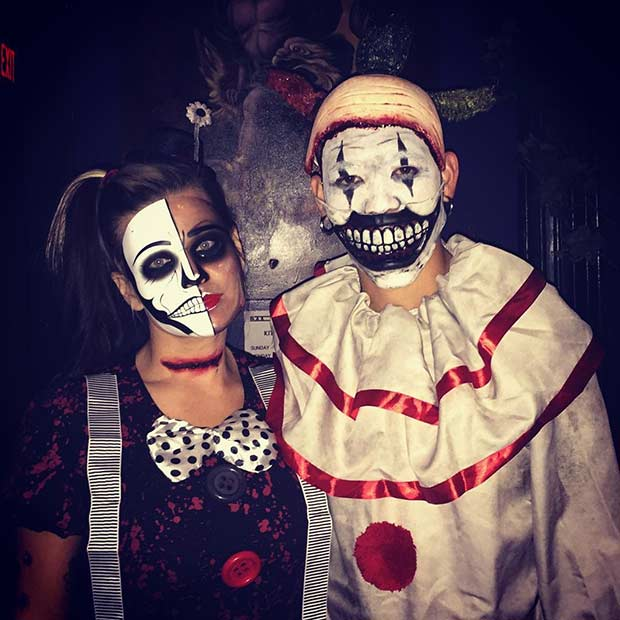korkutucu Couple Halloween Costume Idea
