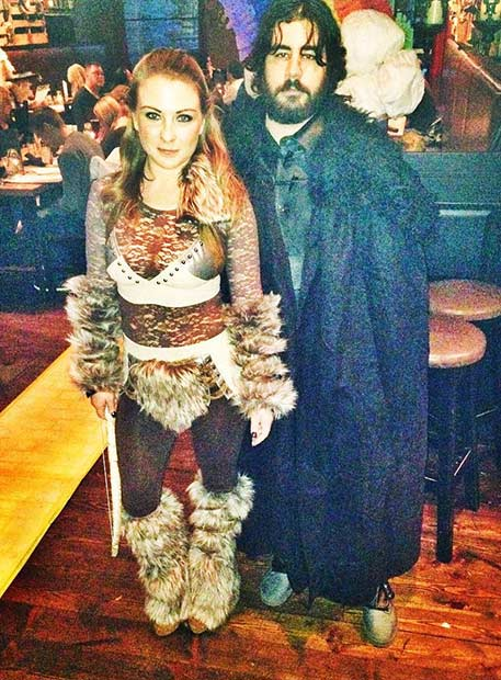 Jon Snow Ygritte GOT Couple Halloween Costume
