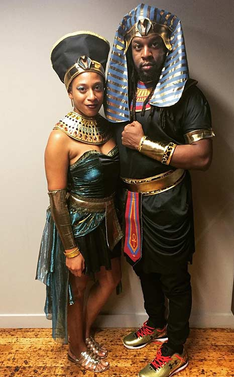 Mısır Royalty Couple Halloween Costume
