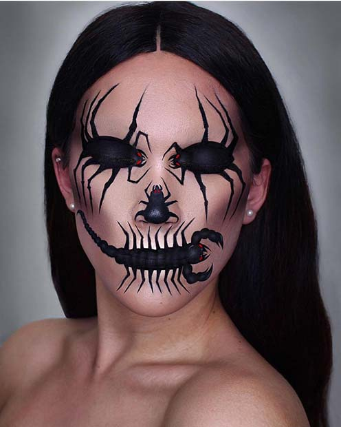 रेंगते जंतु Makeup for Unique Halloween Makeup Ideas to Try