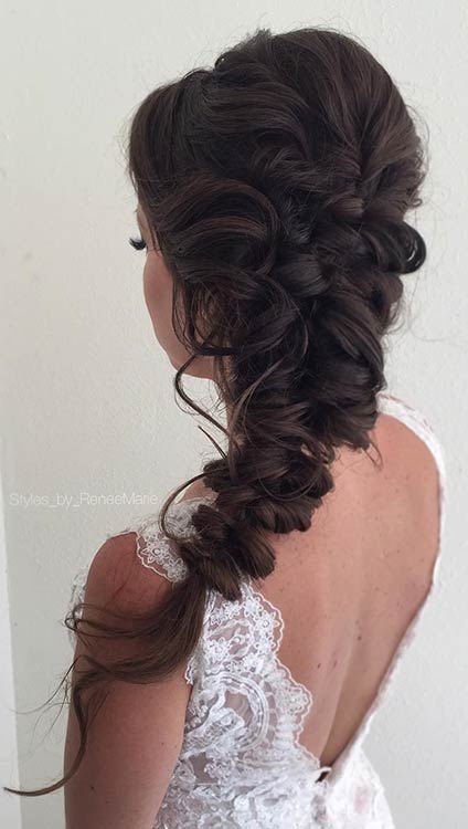 Elegáns Boho Hairstyle for Prom