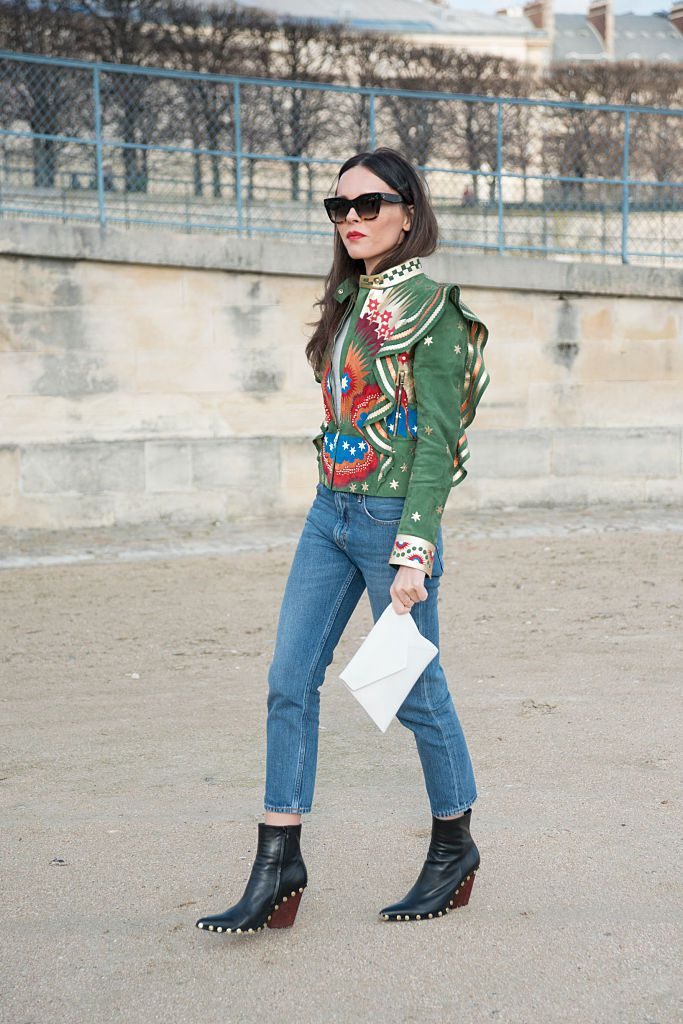 Ulica style Valentino jacket and jeans
