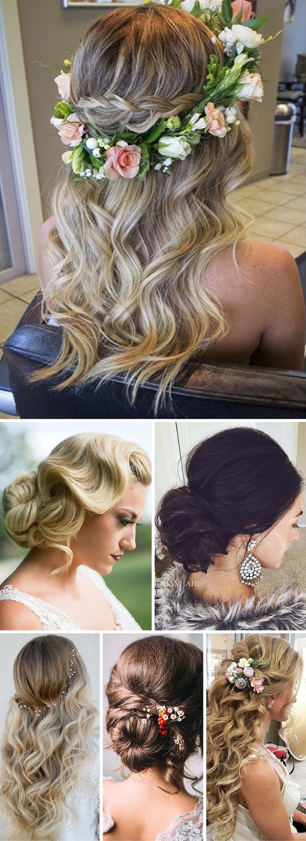 28 Breathtaking Wedding Hairstyles - StayGlam