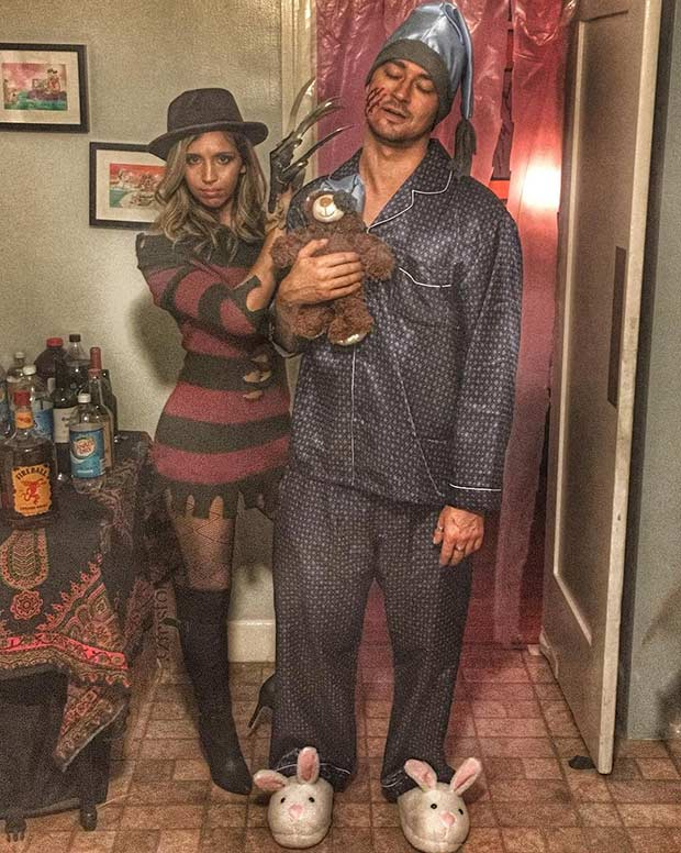 פרדי Krueger Couples Halloween Costume Idea
