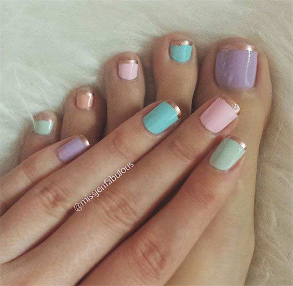 potrivire Pastel Pedicure and Manicure