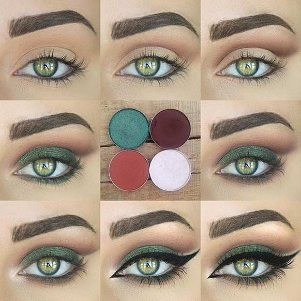 Zelena Eye Makeup Look Tutorial