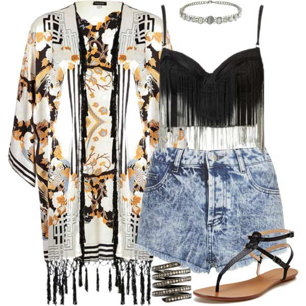 Хипи Coachella Outfit Idea