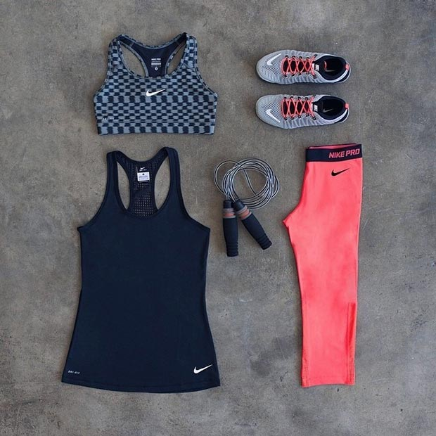 Nike Workout Outfit for Women
