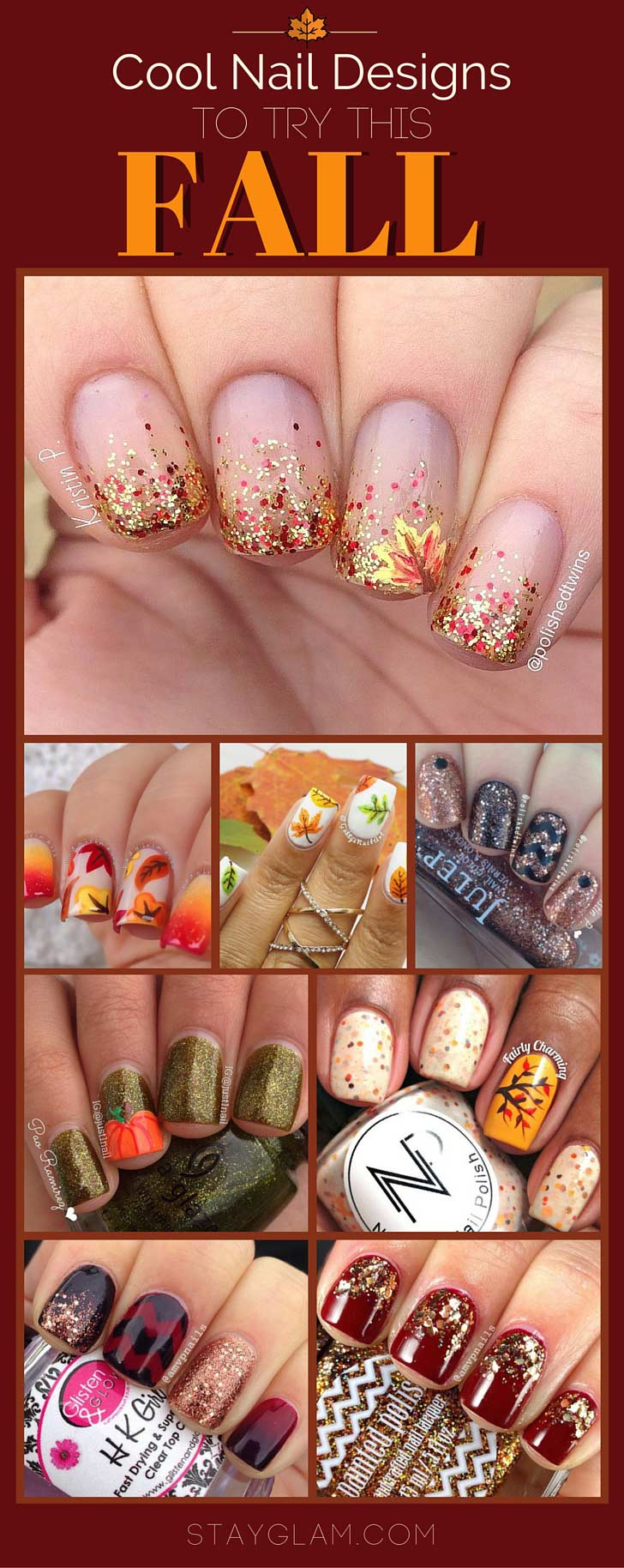 מגניב Nail Designs for Fall