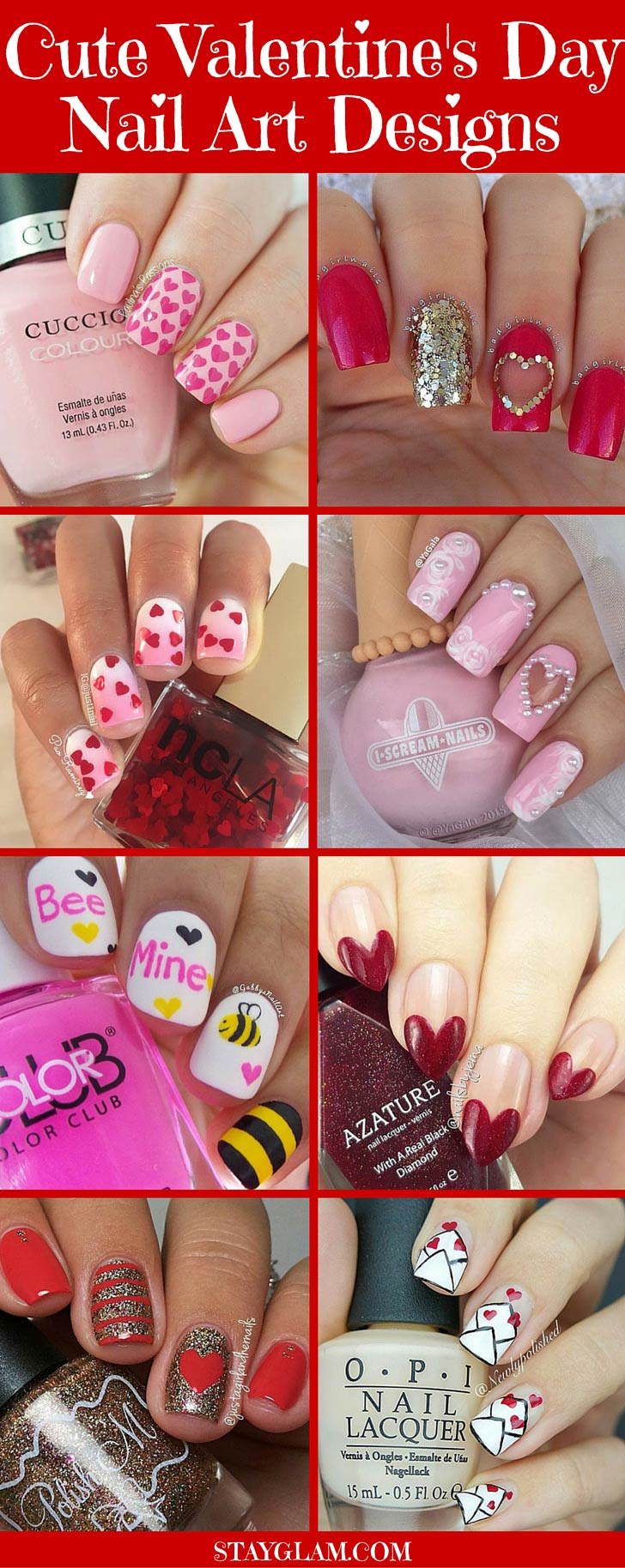 35 Cute Valentines Day Nails