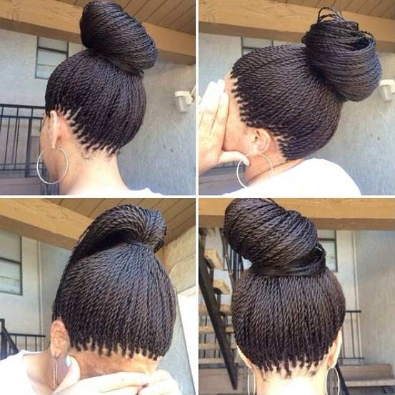 mikro Twists Hairstyle for Black Women