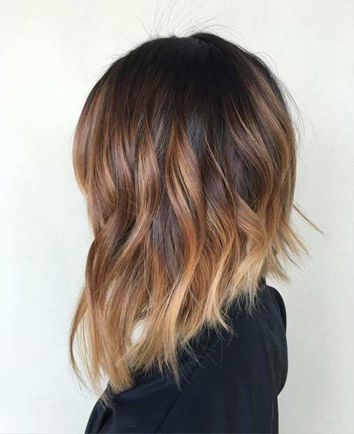 Güneş Kissed Inverted Bob Hairstyle