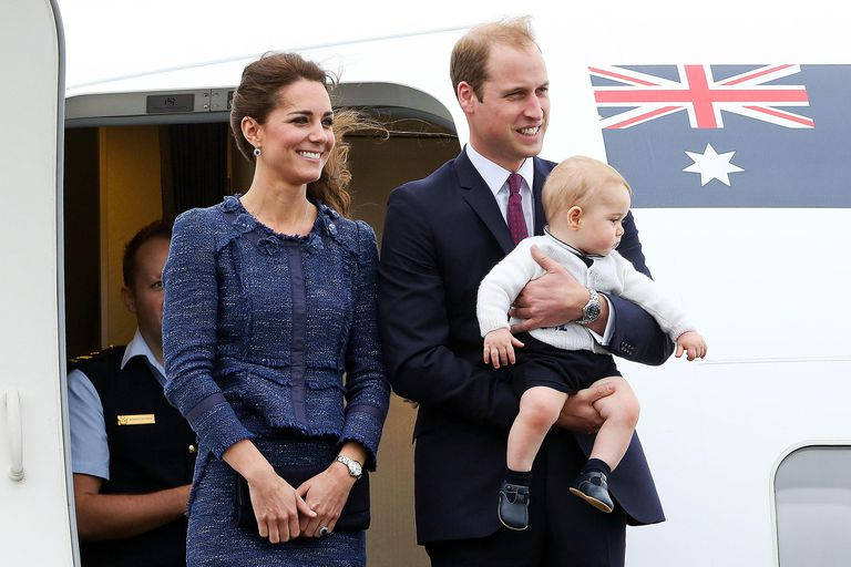 Catherine Duchess of Cambridge departs New-Zealand
