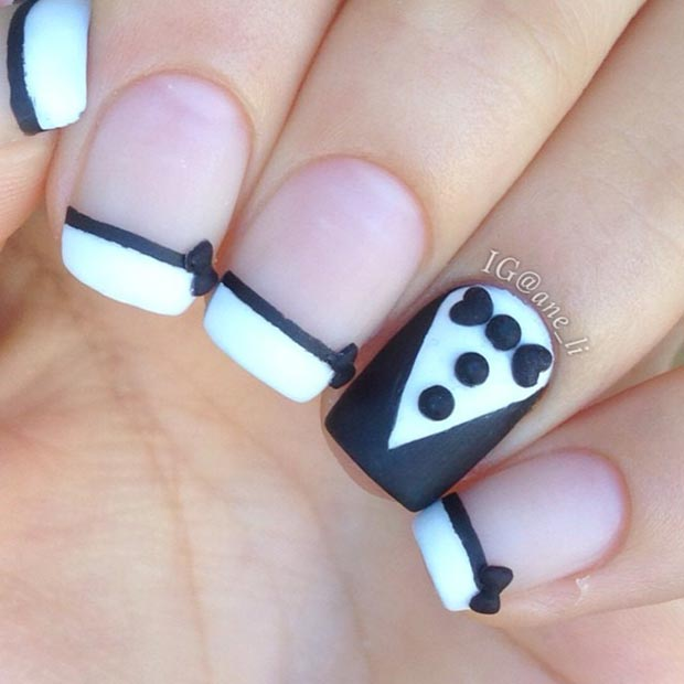 Suit And Tie Nails