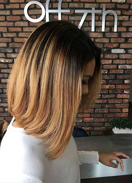 Zlato Caramel Medium Length Hair Cut