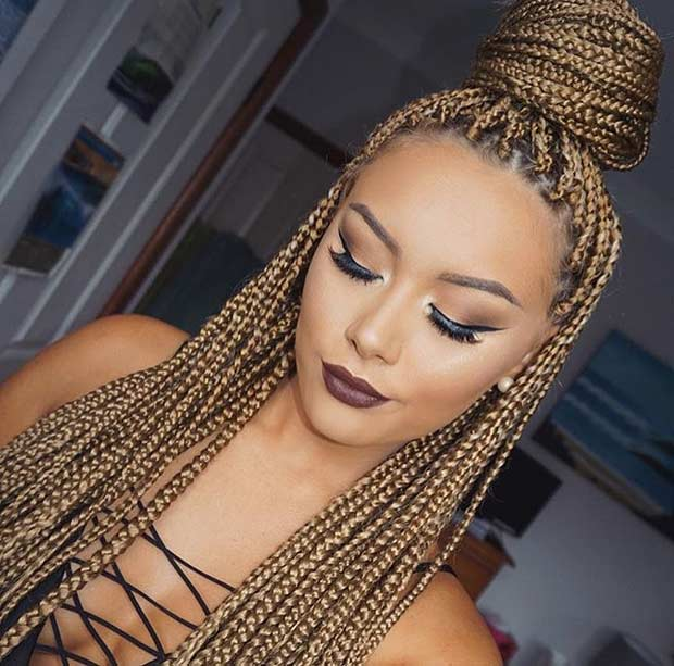 Мали Caramel Blonde Poetic Justice Braids