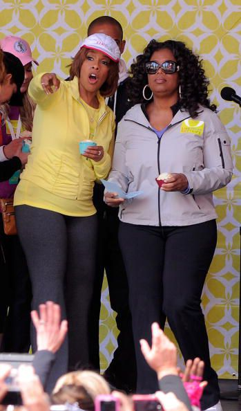 Опрах Winfrey and Gayle King