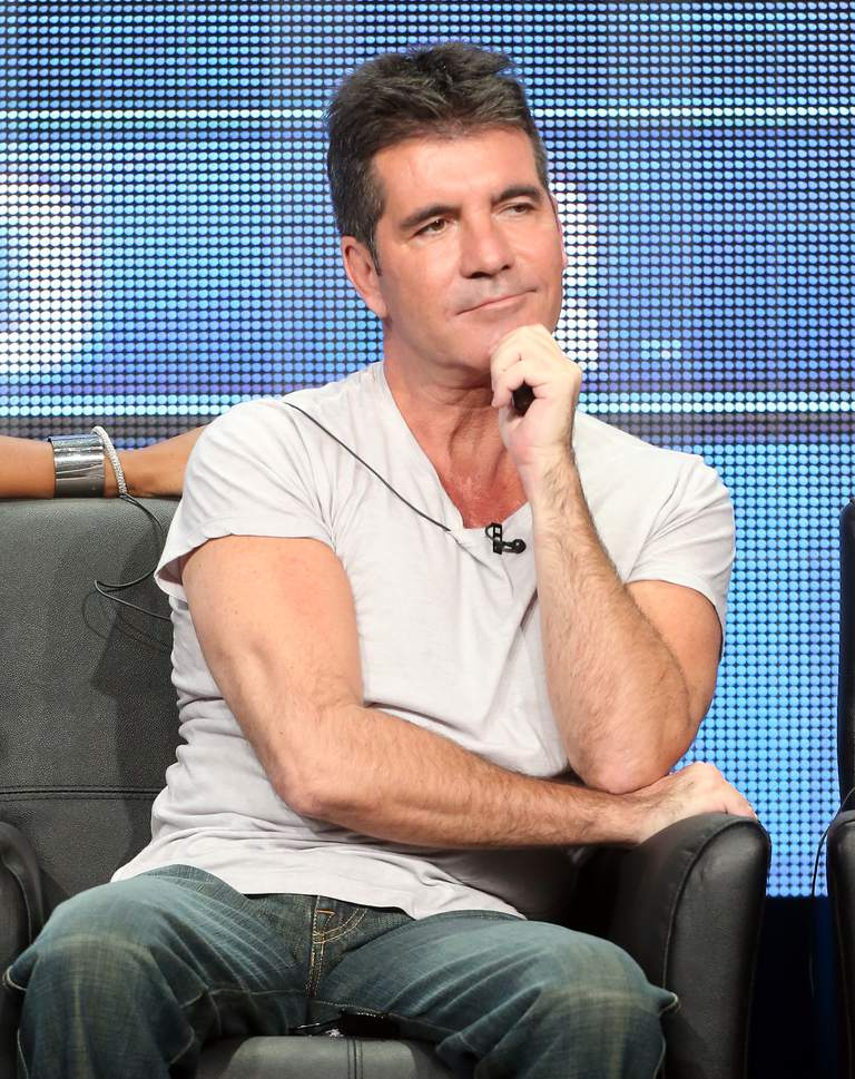 Samma Outfit Everyday - Simon Cowell