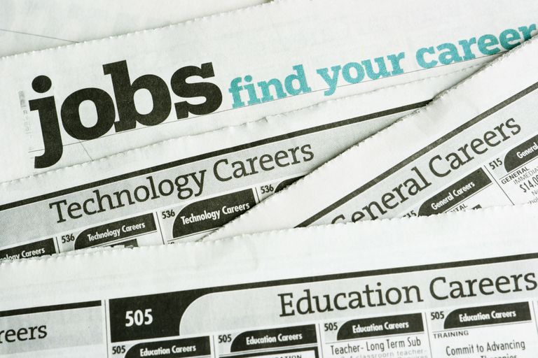 Job Search and Employment, Occupation Opportunity Classified Ad