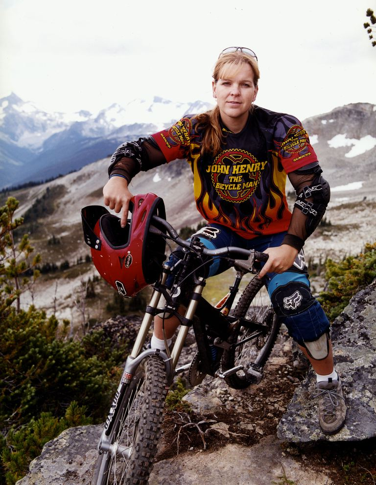 Мицхелле Dumaresq, a Transgender Mountain Bike Racer