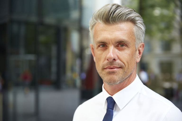 svjež Hairstyle for Men Over 50