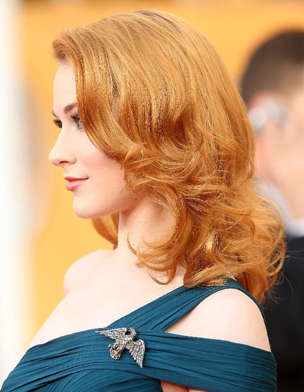 שַׂחְקָנִית Evan Rachel Wood arrives at the 15th Annual Screen Actors Guild Awards on January 25, 2009