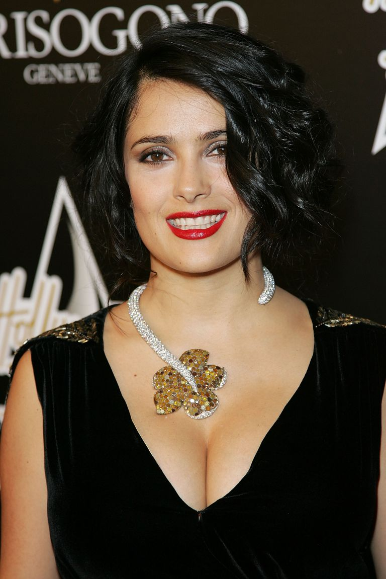 Glumica Salma Hayek attends the 1st Hollywood Domino Tournament
