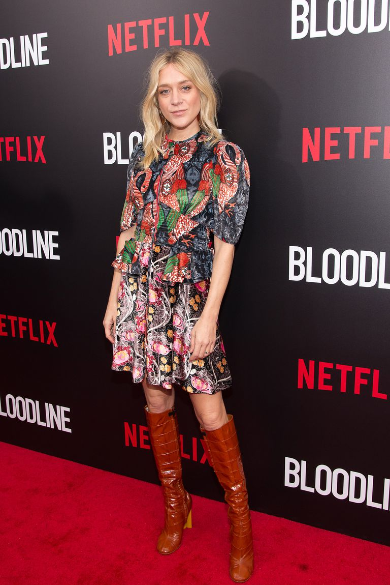 Glumica Chloe Sevigny attends the 'Bloodline' New York Series Premiere at SVA Theater