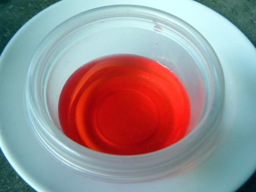 Yapmak bright red stage blood with this recipe.