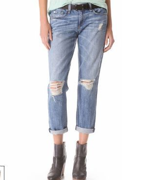 Rongy and Bone Boyfriend Jeans