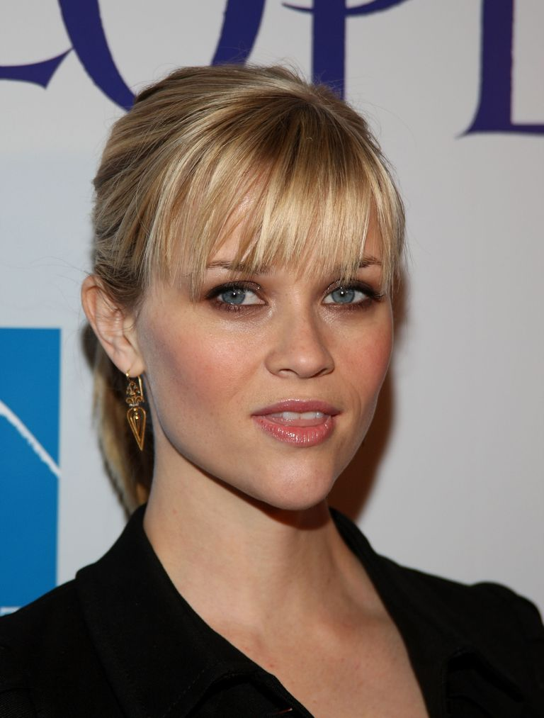 Reese Witherspoon's Brow-Skimming Bangs