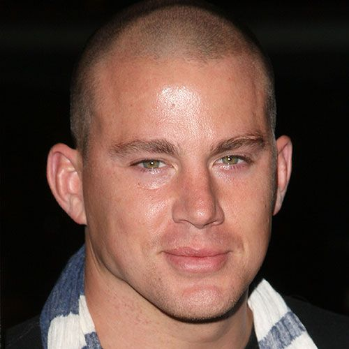 चैनिंग Tatum Shaved Head