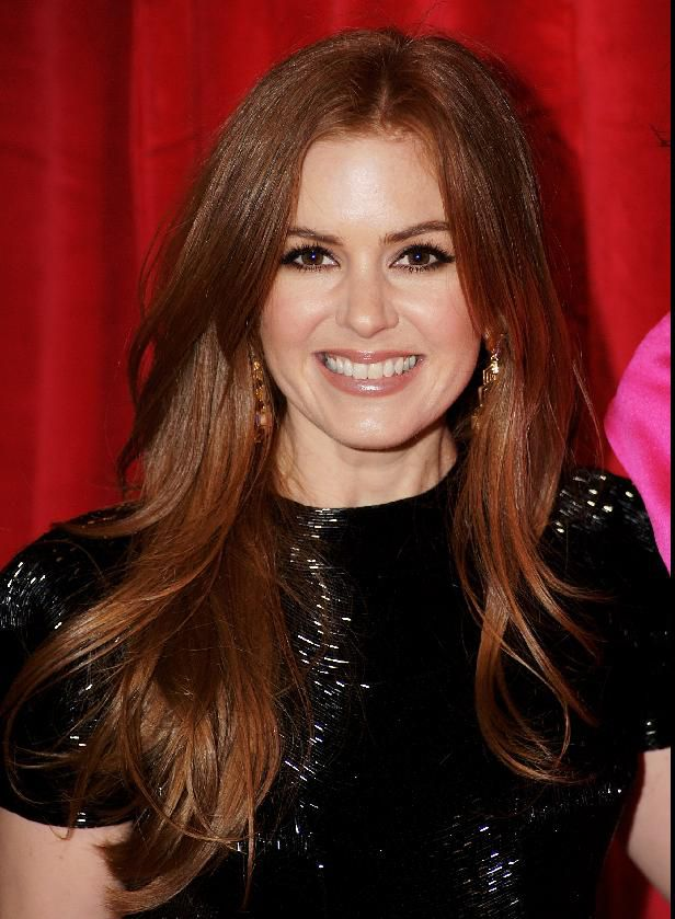 Isla Fisher on February 16, 2009 in London