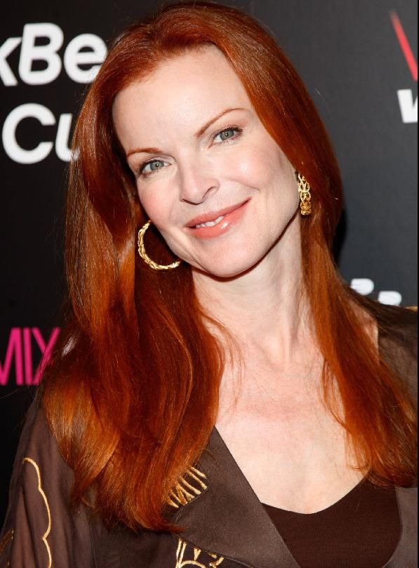 Igralka Marcia Cross on August 27, 2008