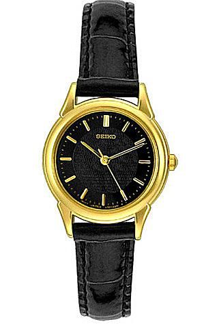 Seiko Women's Leather Watch