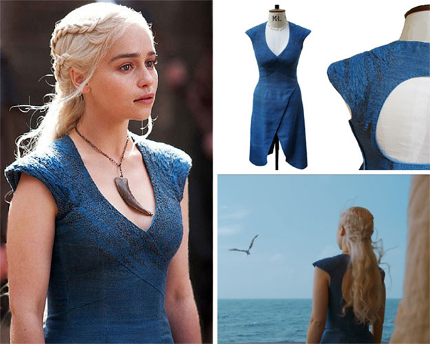 Daenerys Little Blue Dress Look